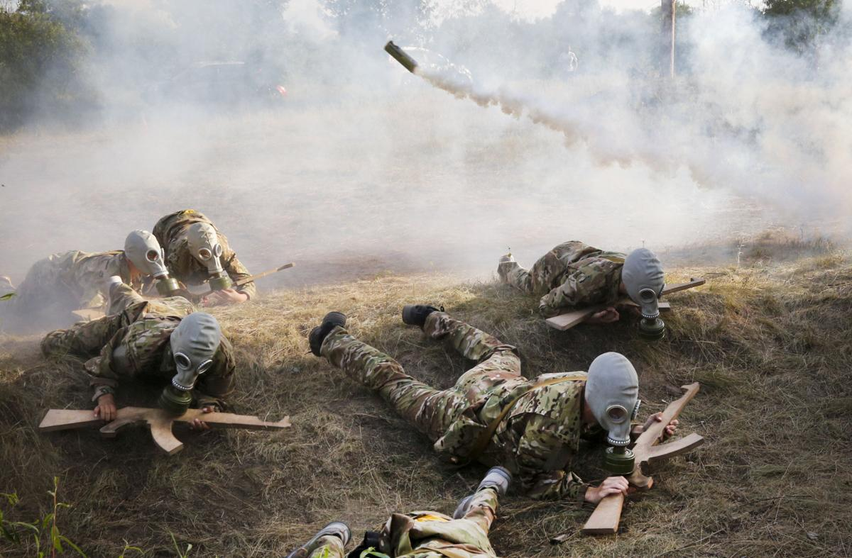 Ukraine Groomed To Fight Photo Essay