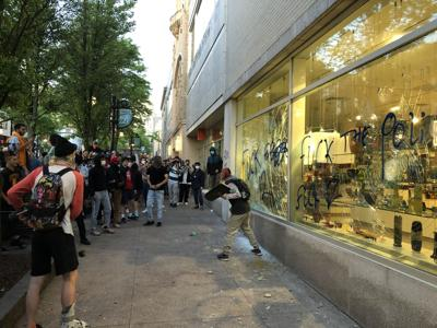 Madison protests turn destructive (copy)