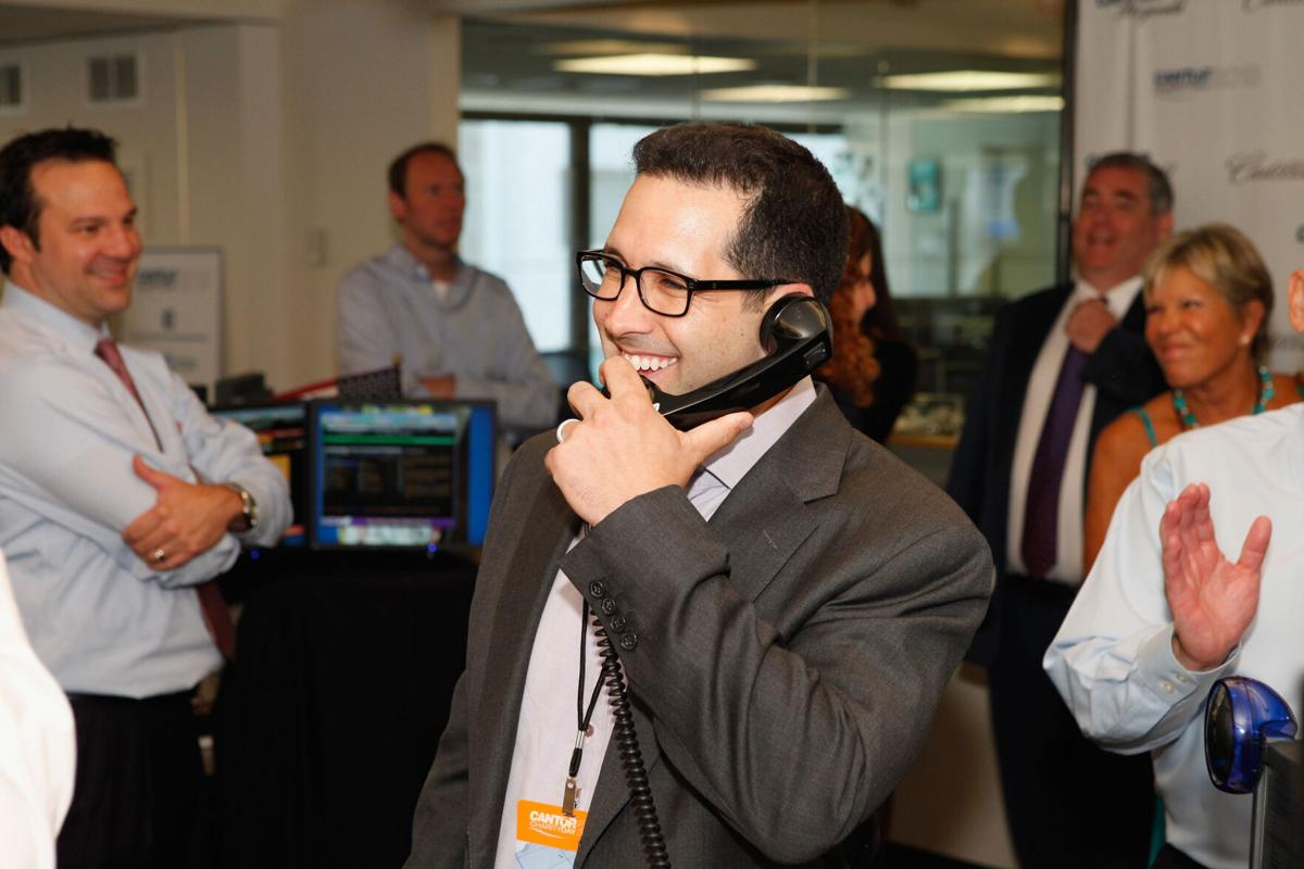Sports media figure Adam Schefter attends the Annual Charity Day Hosted By Cantor Fitzgerald And BGC at the Cantor Fitzgerald Office on Sept. 11, 2013, in New York.