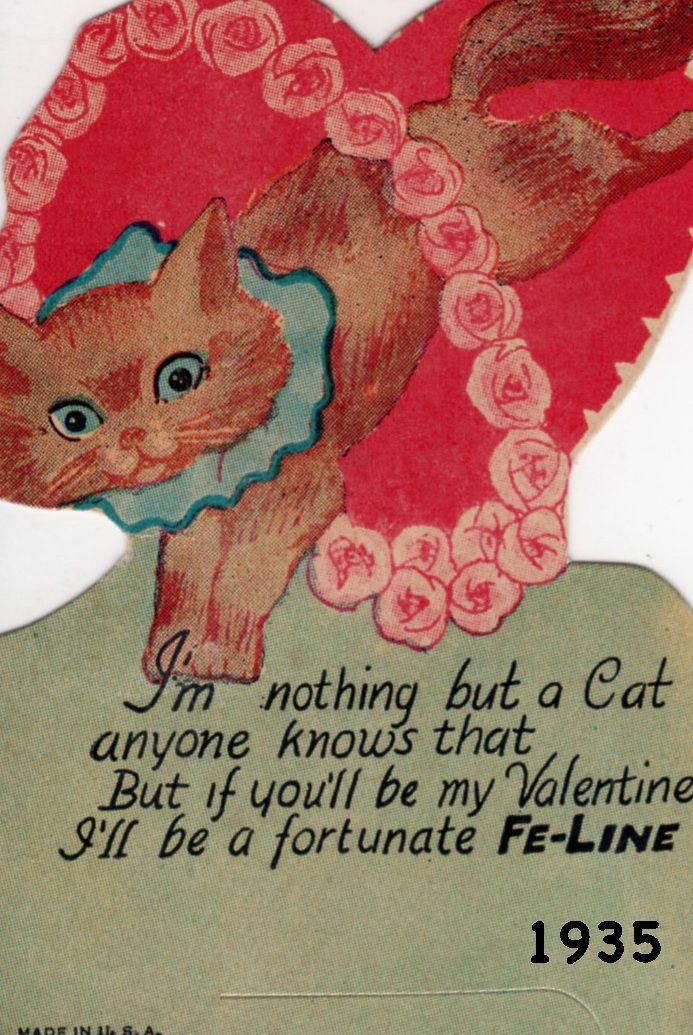 Valentine from 1935
