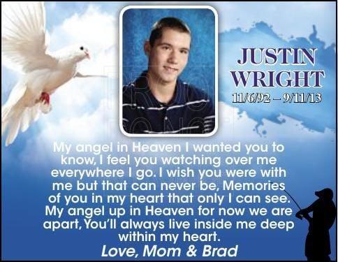 Justin Wright - In Loving Memory