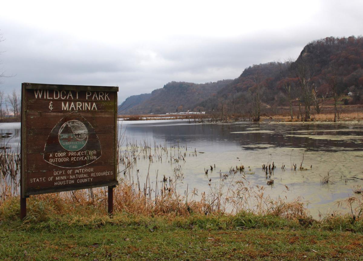 Wildcat Park sign