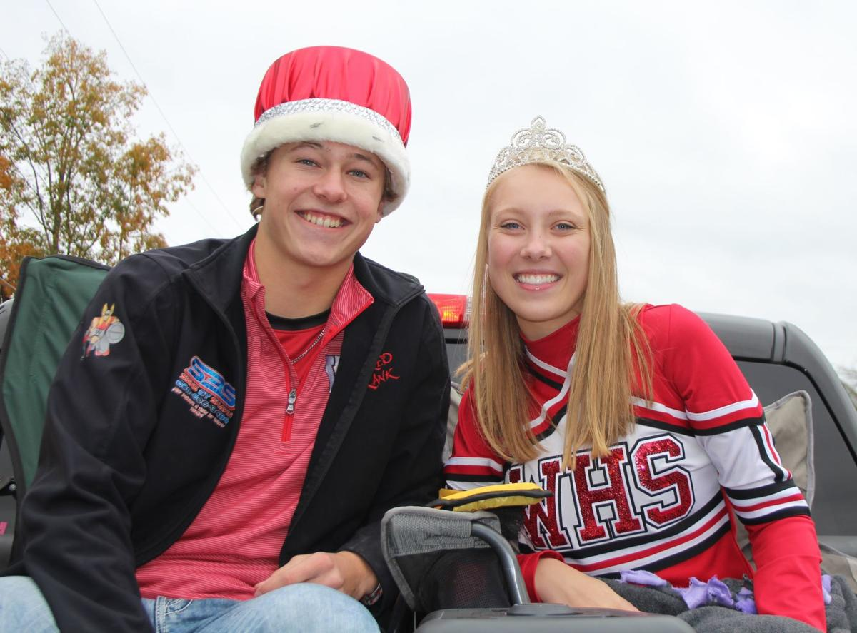 2019 WAHS Homecoming King and Queen