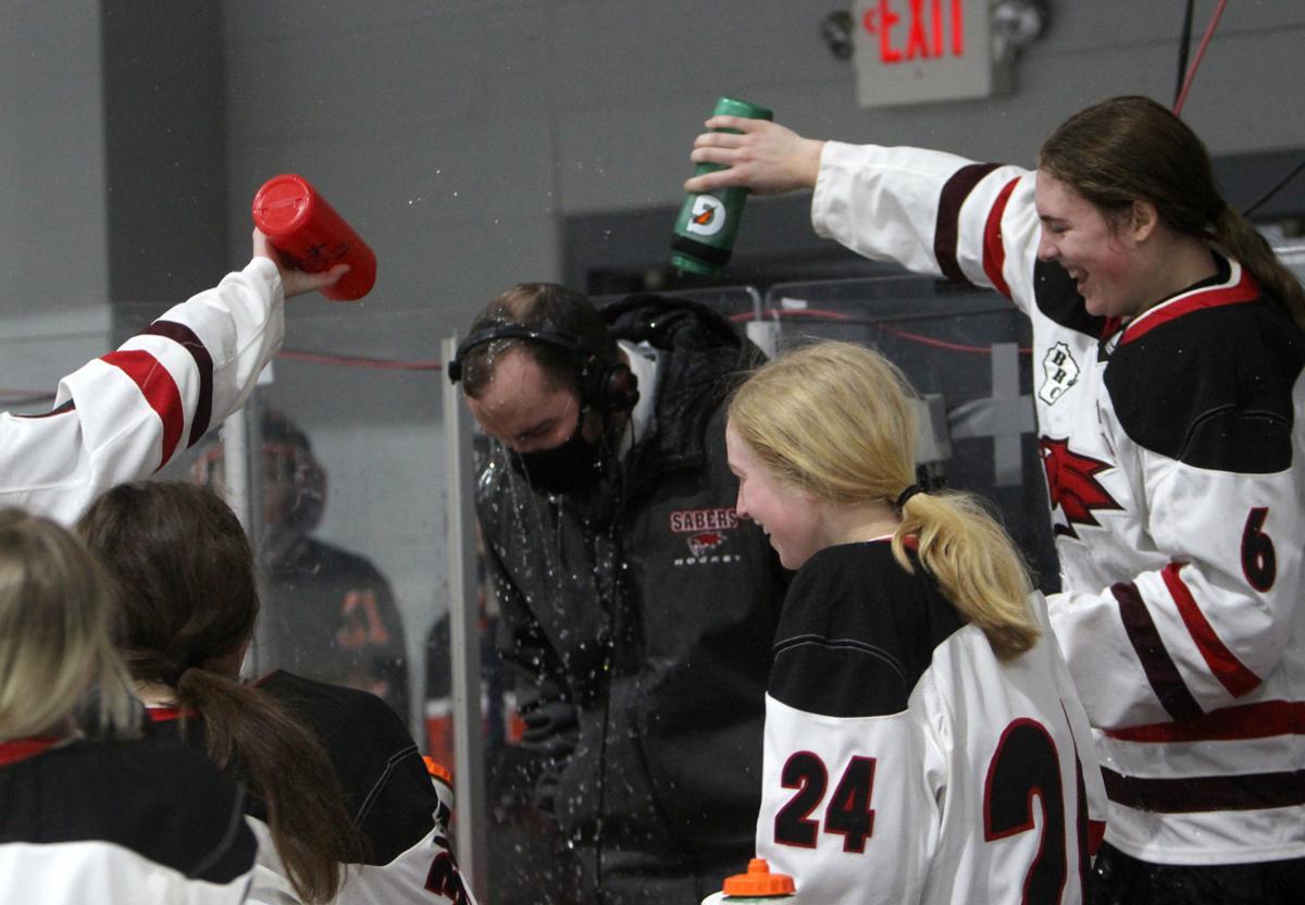 Girls Hockey State Championship: Chippewa Falls/Menomonie vs University School of Milwaukee in Wisconsin Rapids 2-20-21