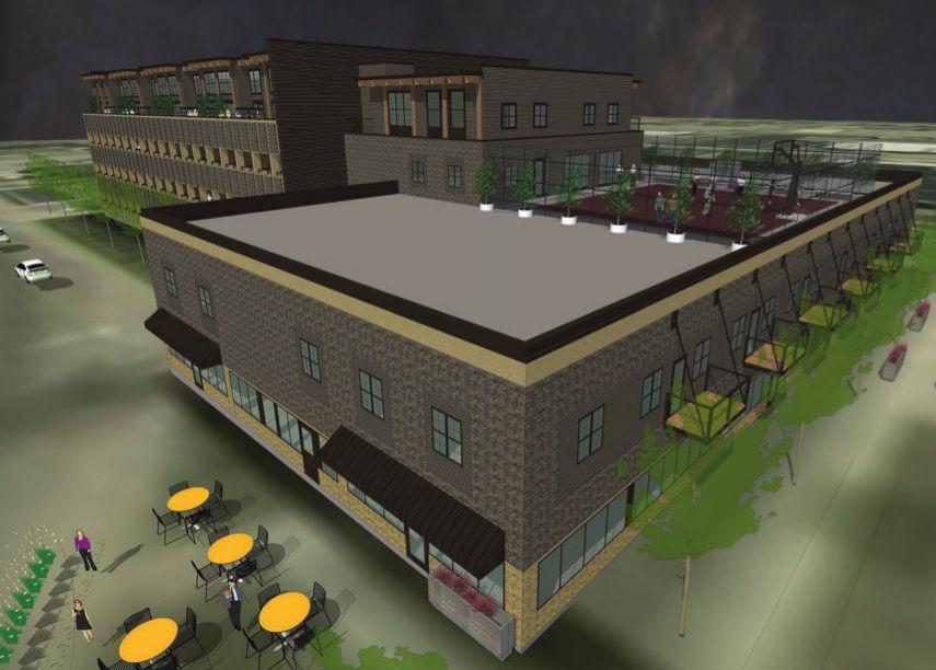Hub on Sixth rendering
