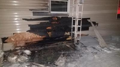 Lightning causes extensive damage to Sparta house