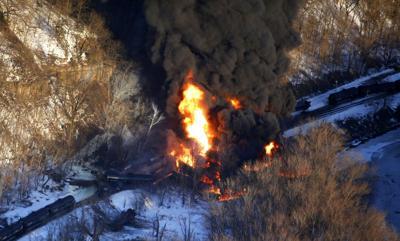 Oil Train Derailment-Illinois