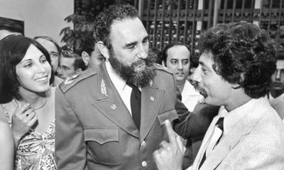 Paul Soglin and Fidel Castro