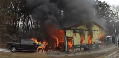 Man killed in rural Monroe County fire