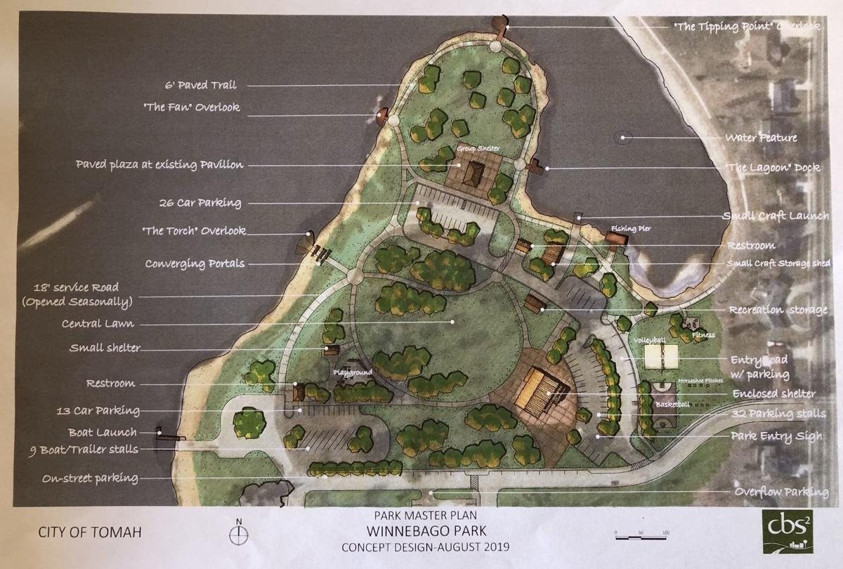 Winnebago Park concept design