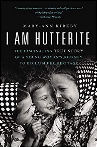 Book cover: 'I am Hutterite' by Mary Ann Kirkby