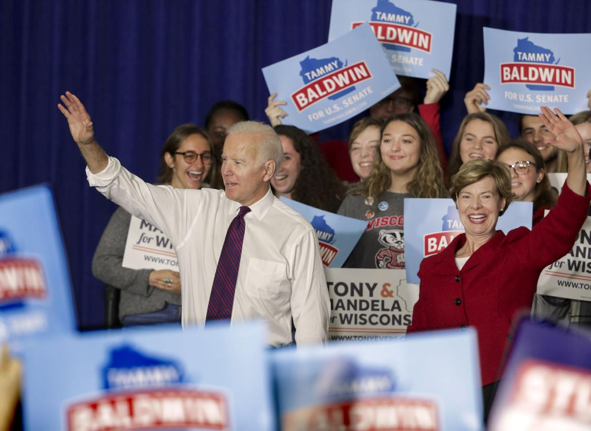Joe Biden At Uw Madison This Election Is A Battle For