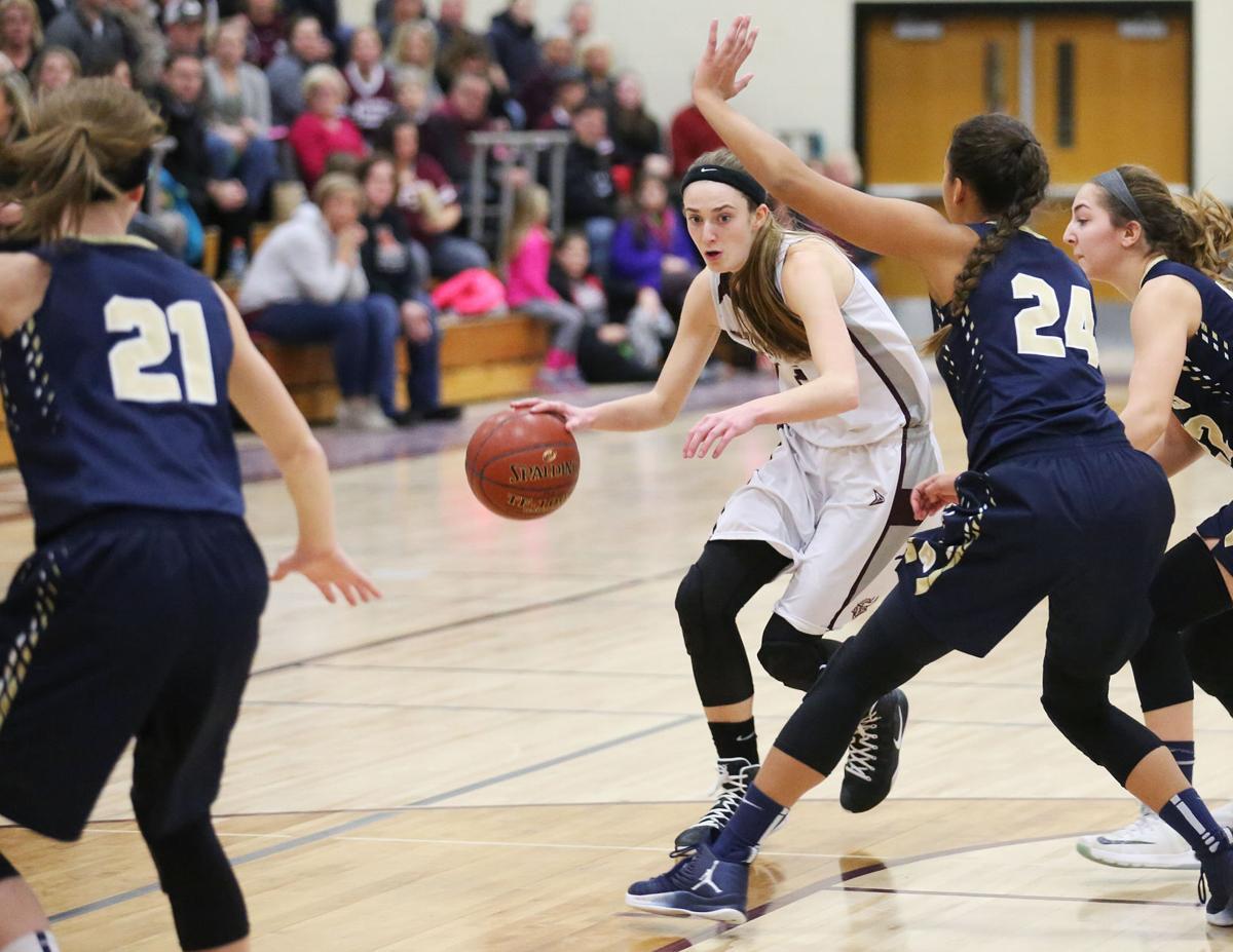 COVER Aquinas vs. Holmen Girls Basketball
