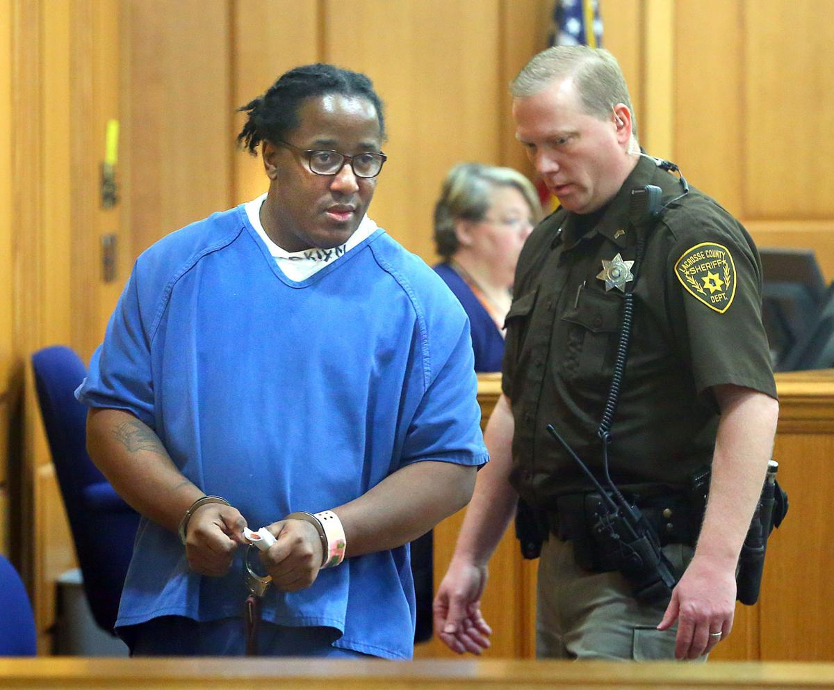 Haron Joyner sentenced to life in wife's homicide, can petition for release in 40 years