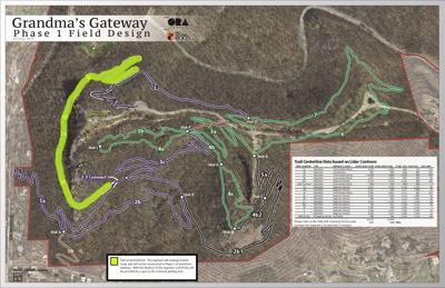 Map of Grandma's Gateway