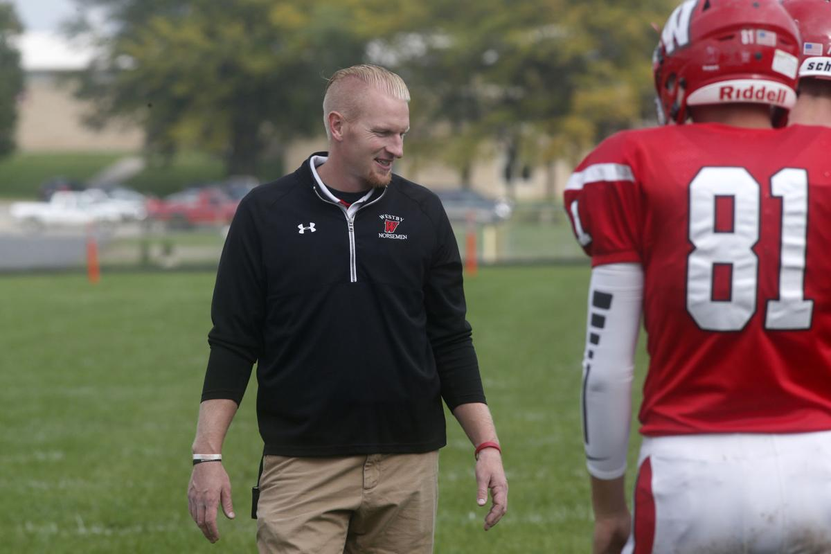 Westby coach Andy Hulst