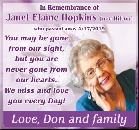 Janet Hopkins