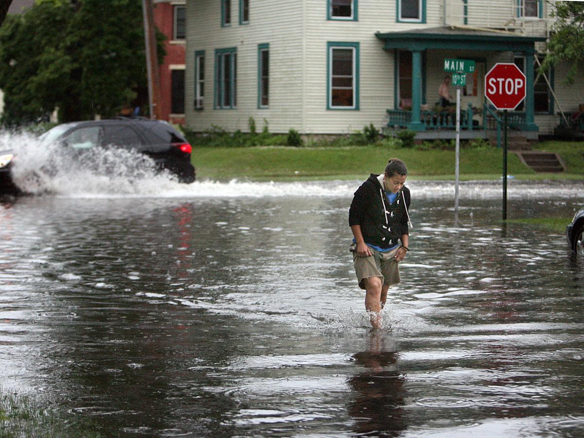 Flash flooding file photo