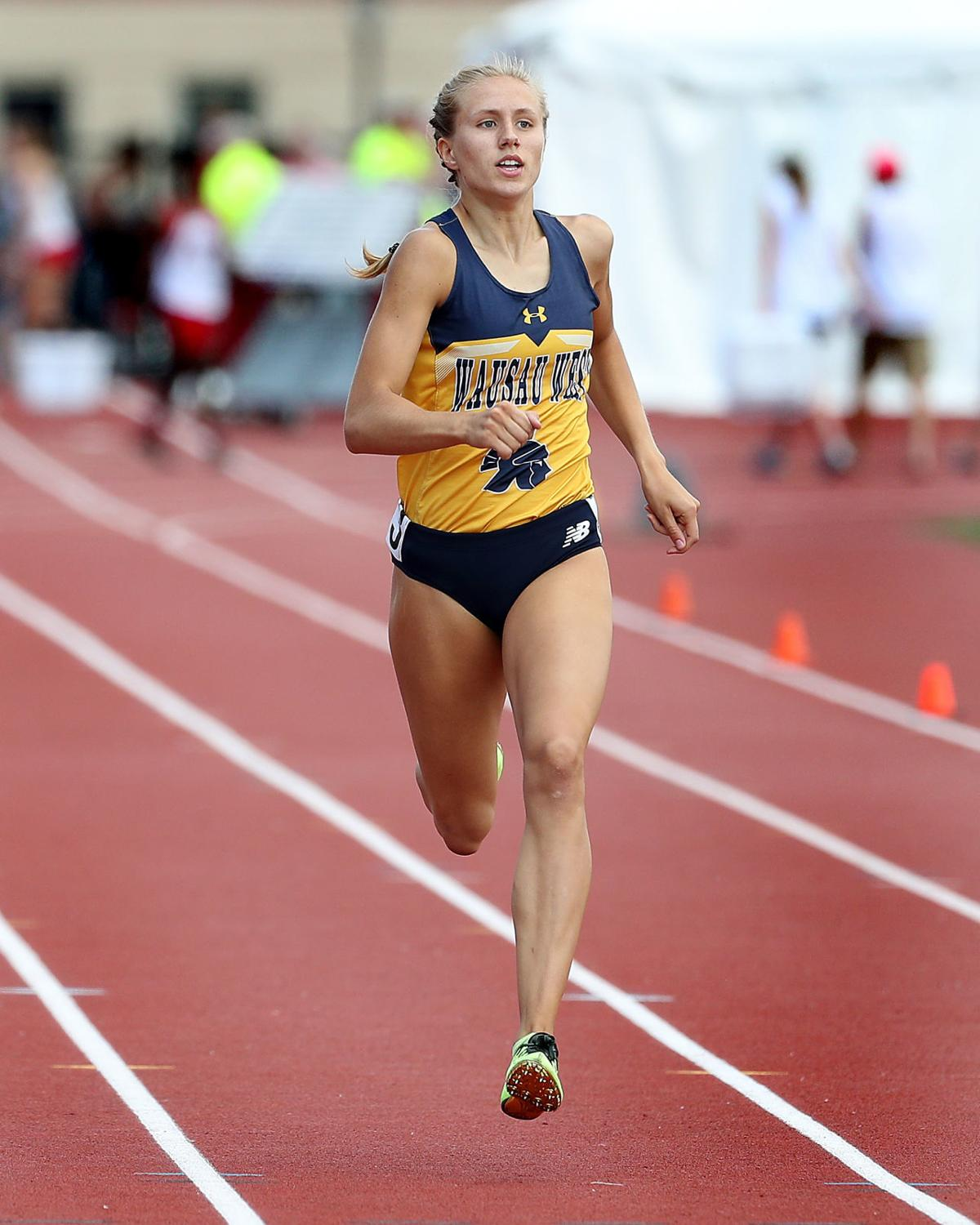 Wausau West's Brooke Jaworski