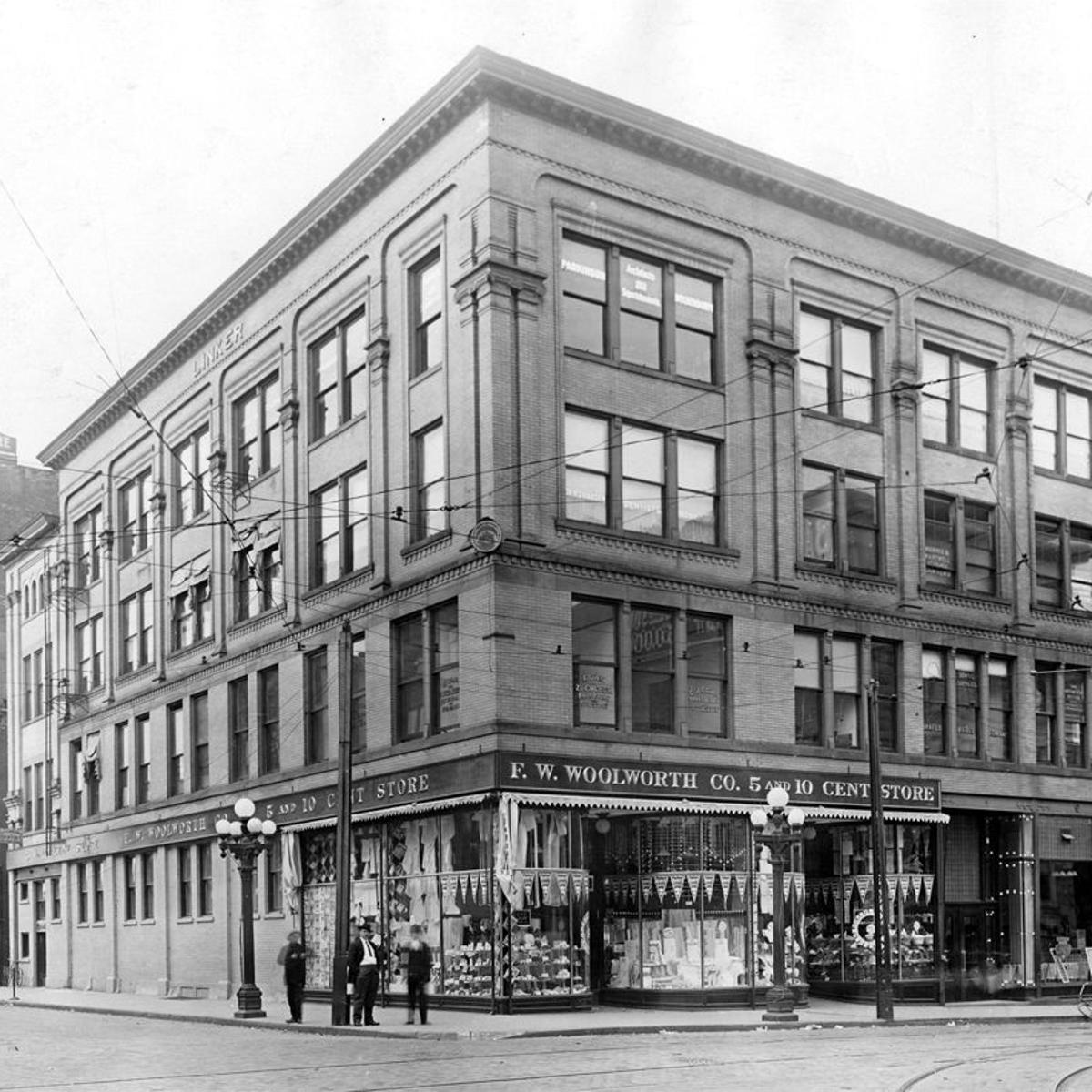 The Way it Was: F W  Woolworth Co  5 and 10-Cent Store