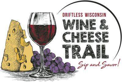 Driftless Wisconsin Wine & Cheese Trail LOGO