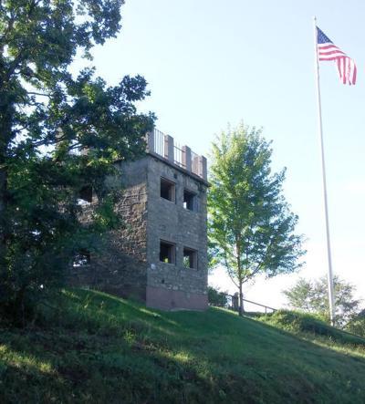 'Castle' still stands tall over Elk Mound