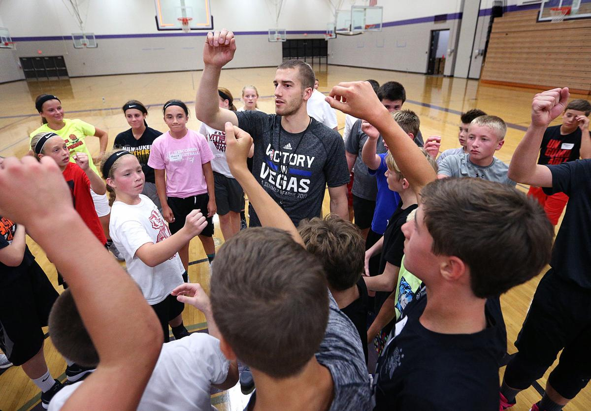 Onalaska grad Matt Thomas makes hometown stop before heading overseas