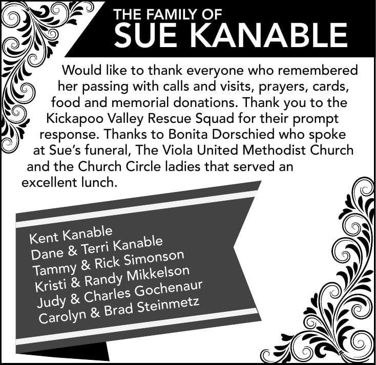 Sue Kanable