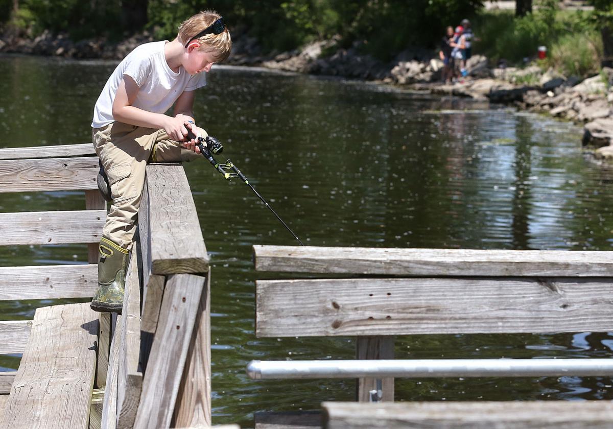 Sittin' on the Pettibone dock