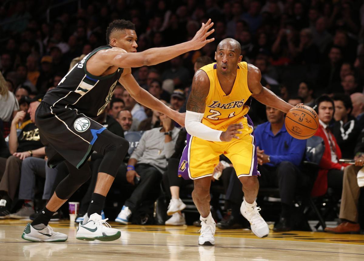 Kobe Bryant, Giannis Antetokounmpo