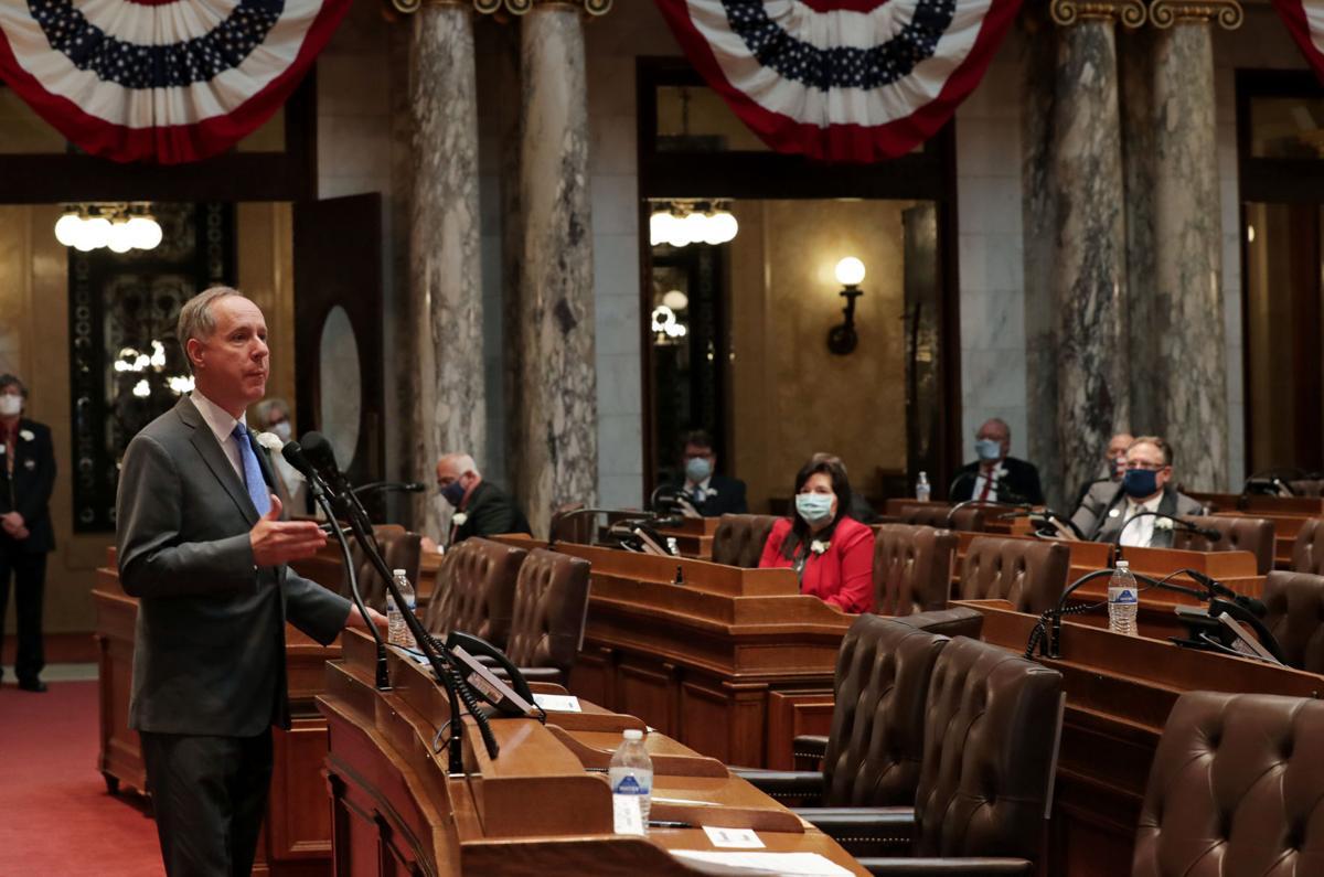Inauguration for 2021-22 legislative session