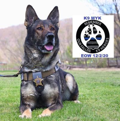 K-9 Officer Myk