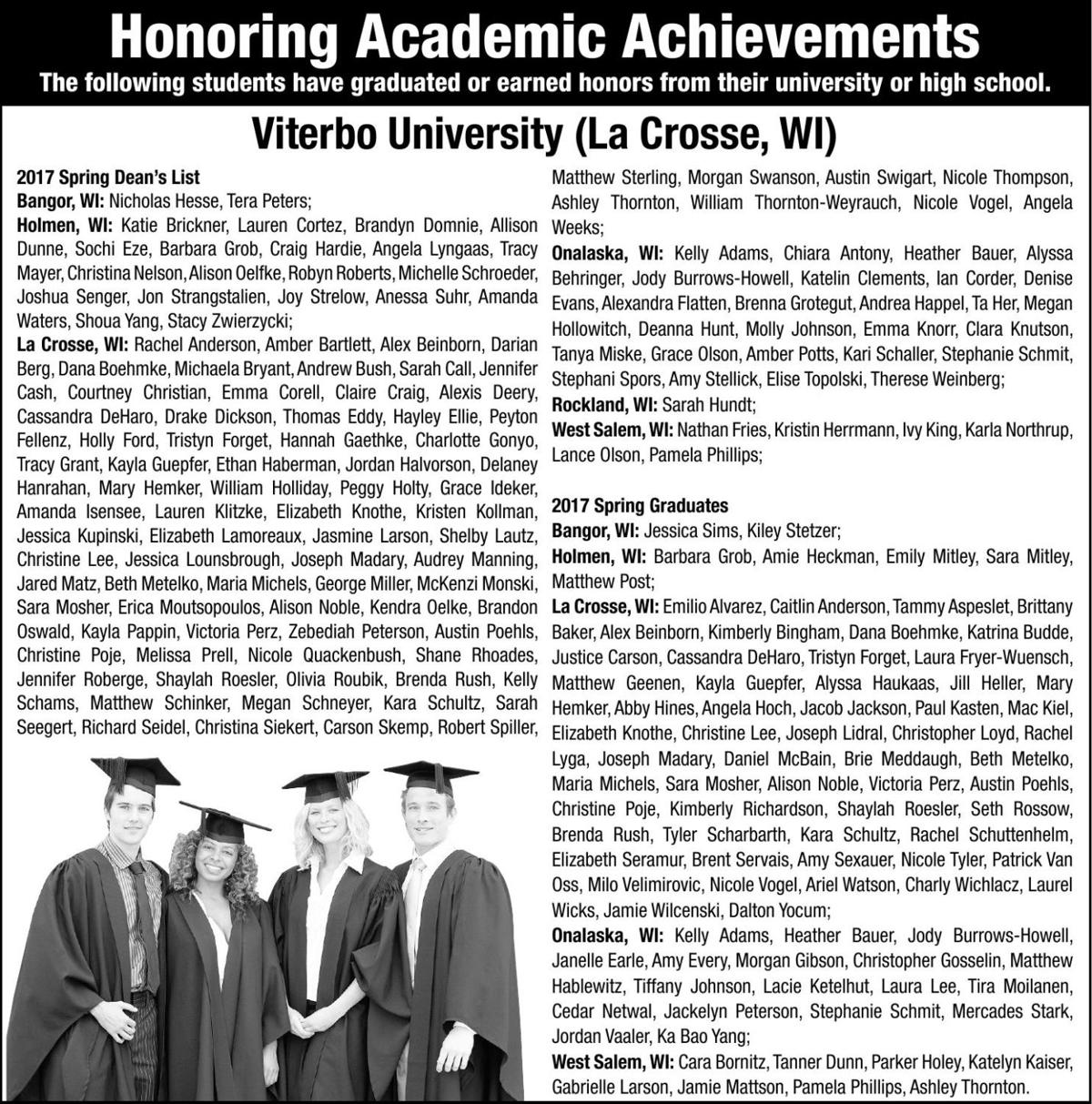 Honoring Academic Achievements