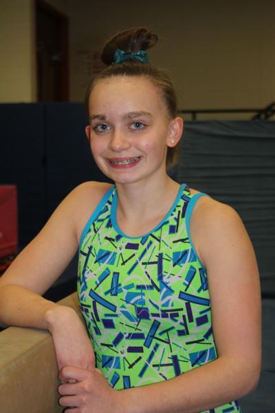Lydia Korn state-bound gymnast