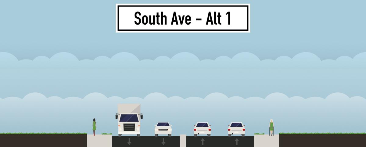 South Avenue - Alt. 1