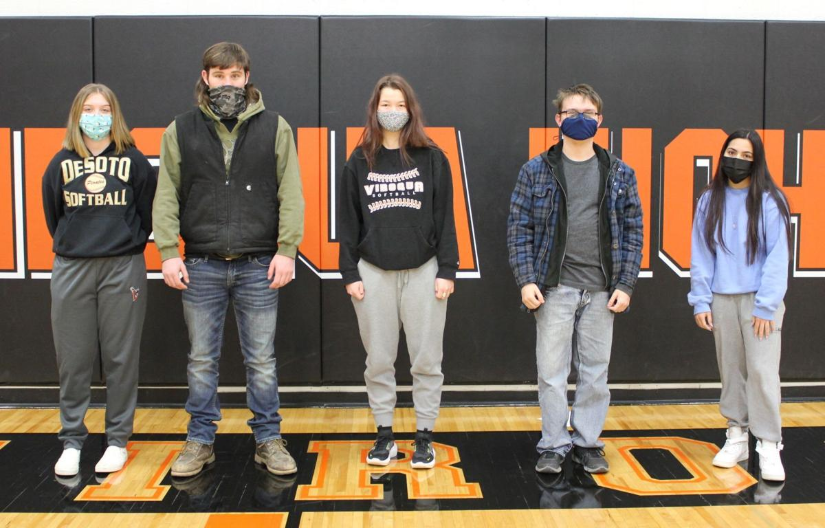 VHS November Students of the Month 2
