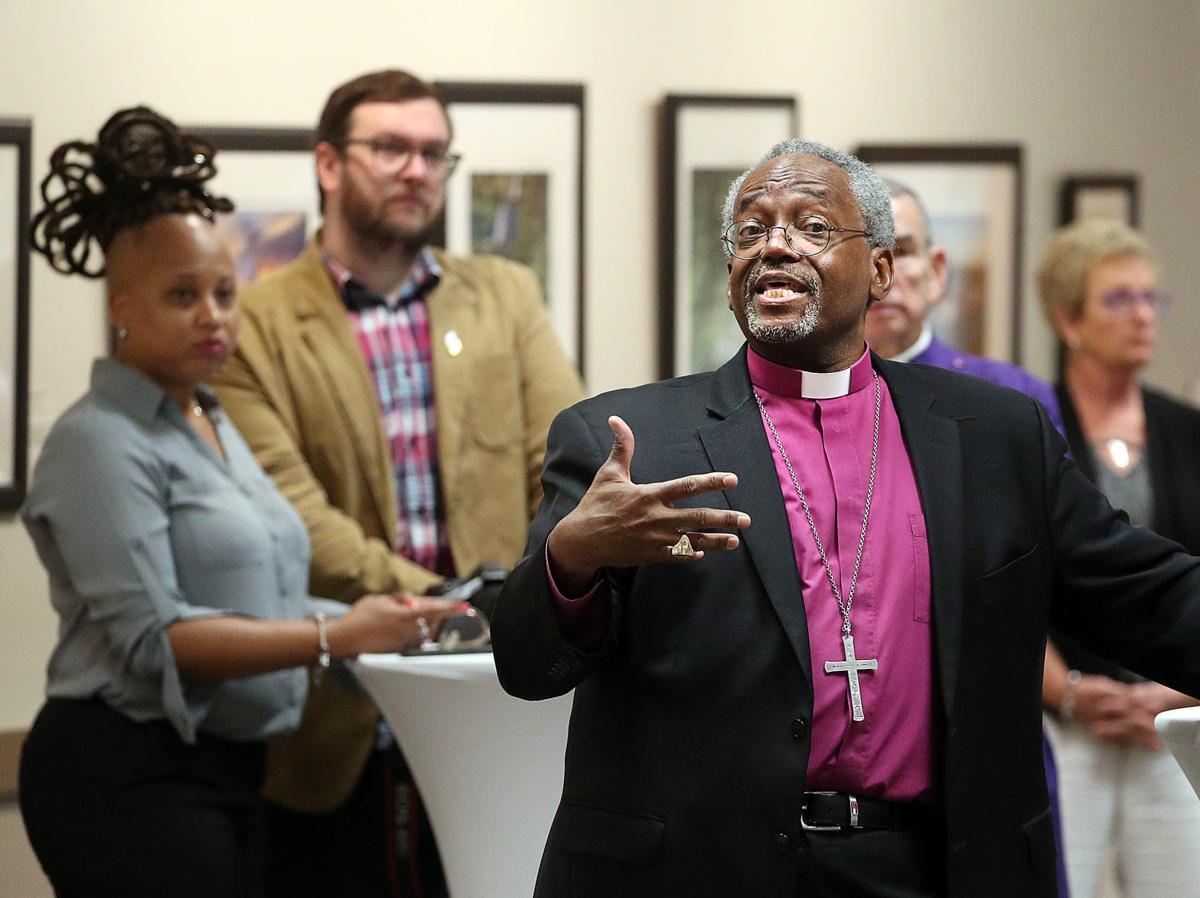 Bishop Michael Curry answers question