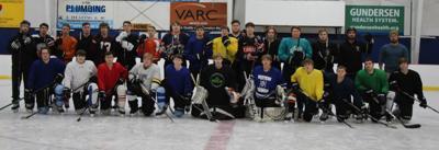 Viroqua High School coopertive boys hockey team 2019-2020