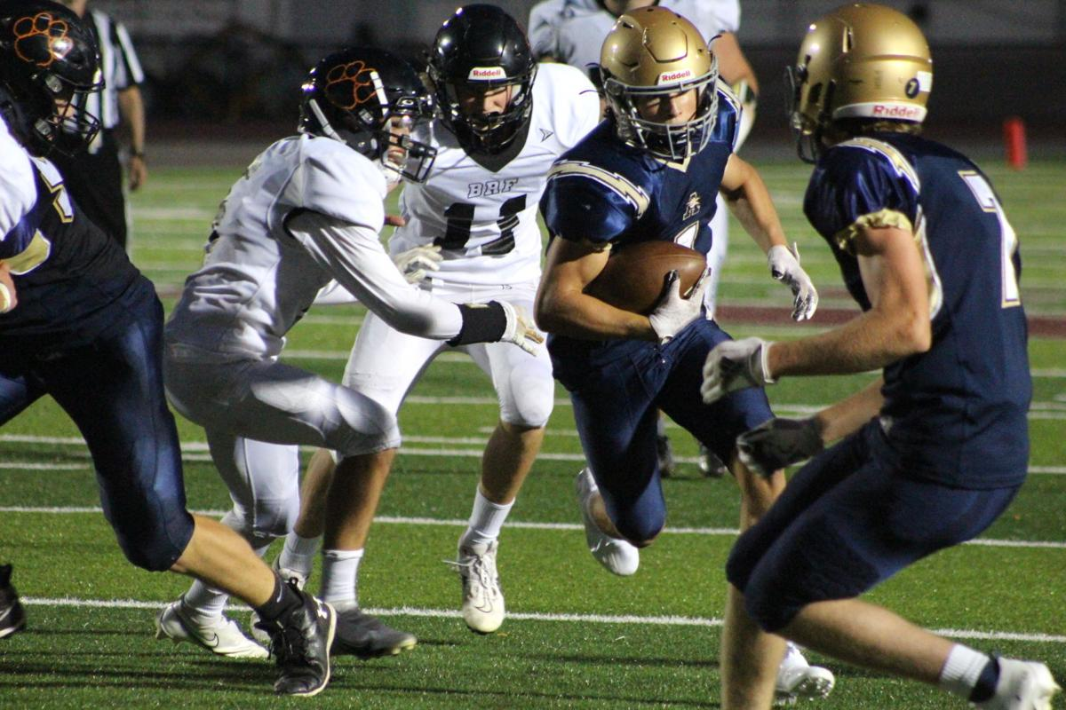 Jack Christenson carries the ball