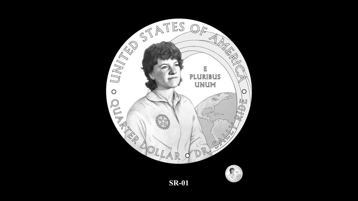 SR-01 -- 2022 American Women Quarters - Sally Ride Reverse