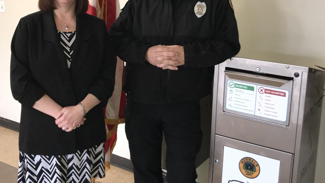 Norwalk gets drug medication drop box
