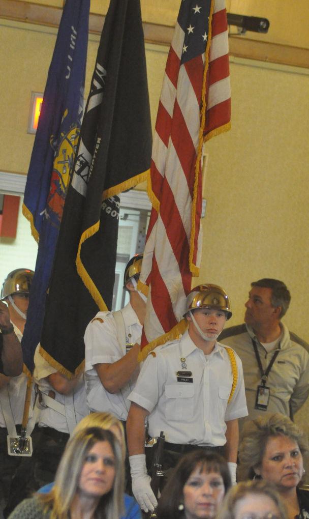 VA ceremony Challenge Academy