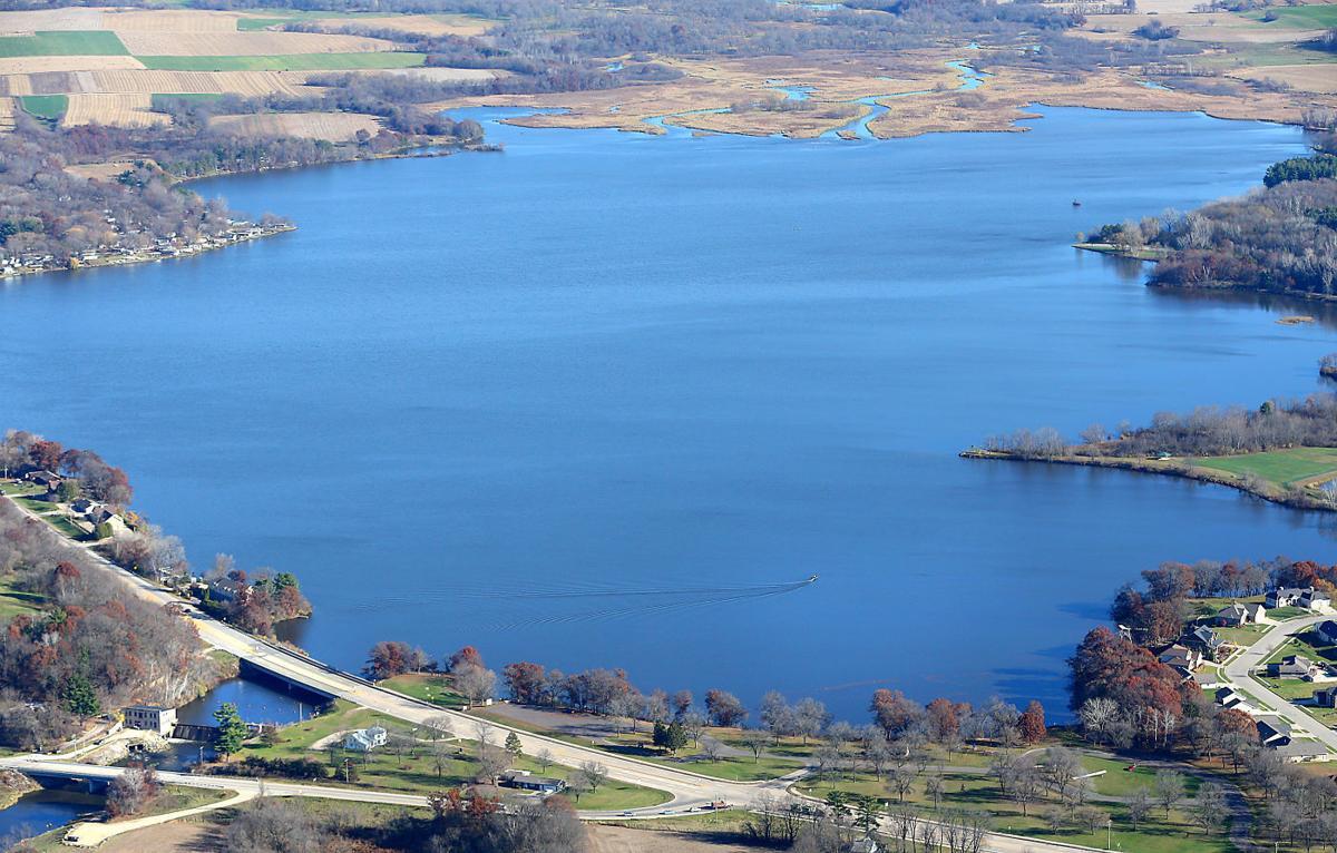 Aerial Lake Neshonoc