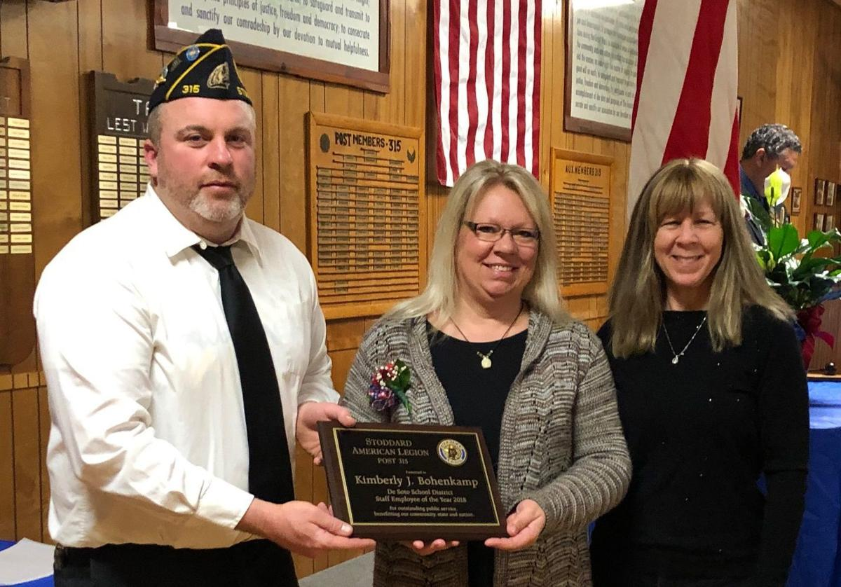 Stoddard American Legion/De Soto School District Professional Provider of the Year