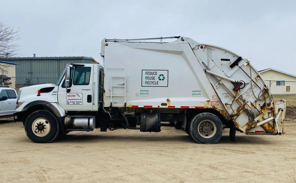City of Westby garbage truck
