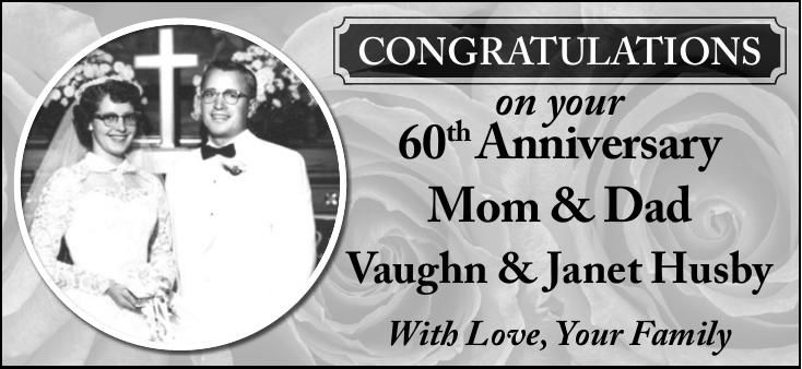 Vaughn & Janet Husby