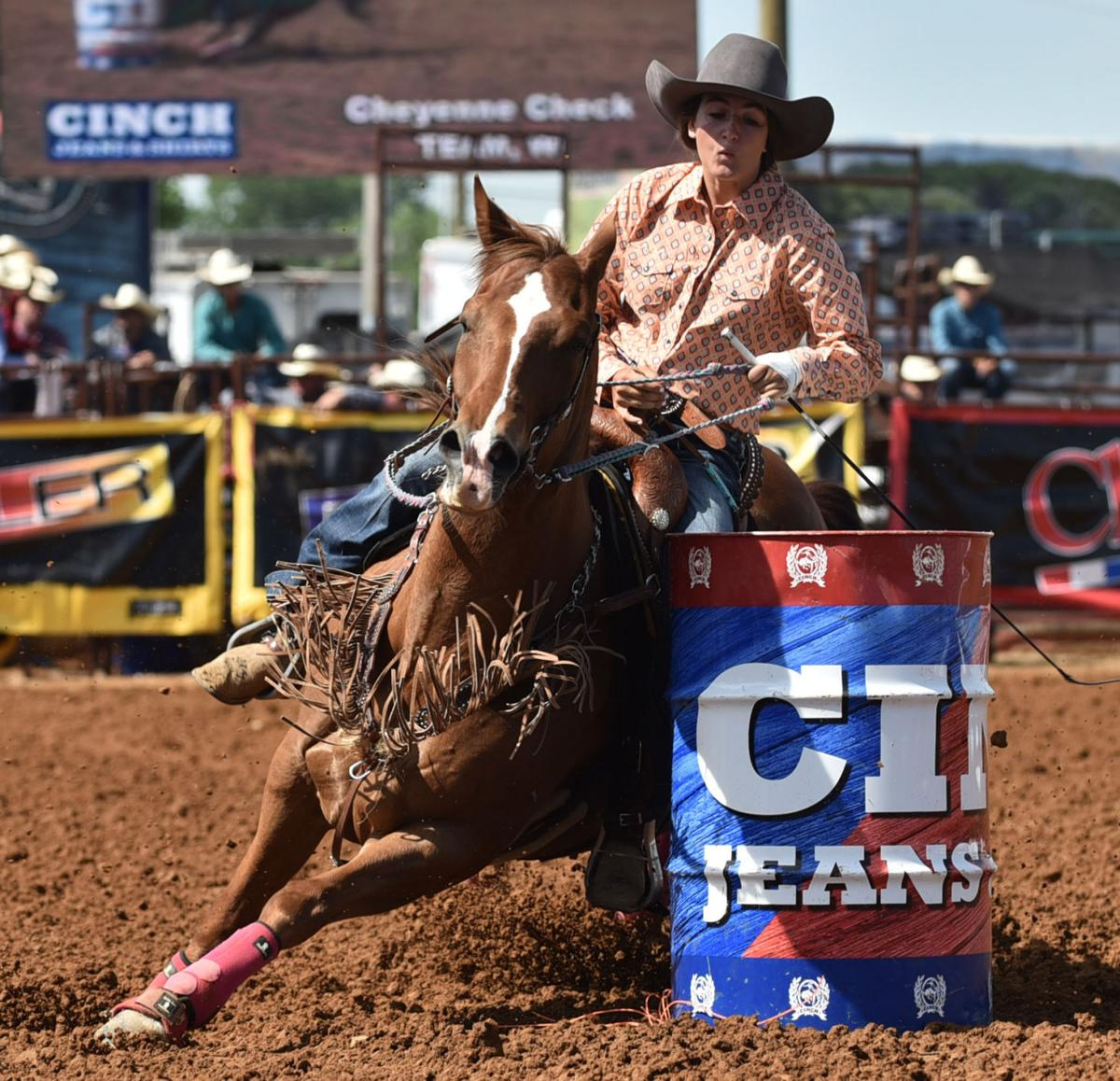 Cheyenne Check To Compete In National Rodeo At Las Vegas