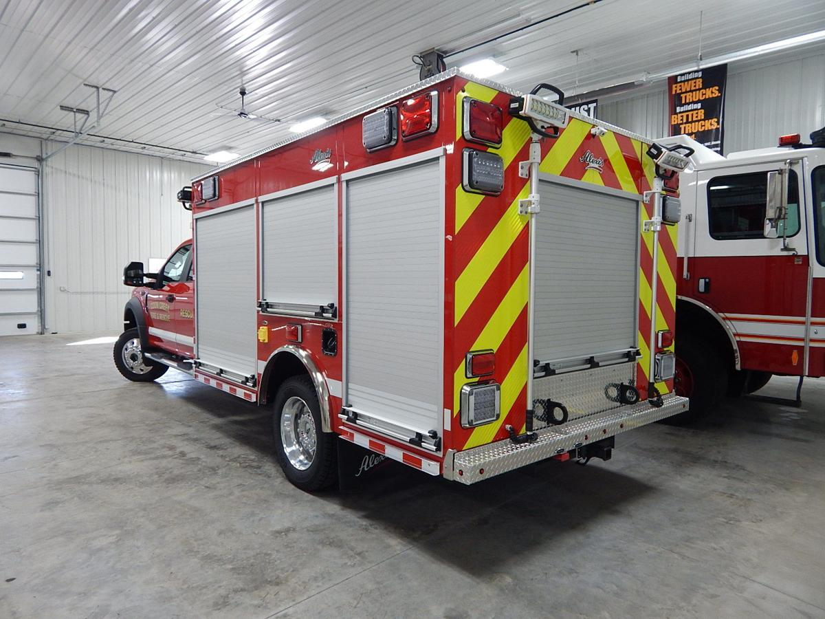 Coon Valley Fire & Rescue new rig