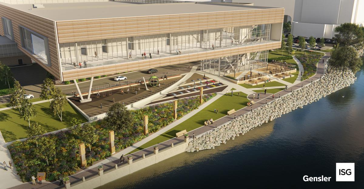 La Crosse Center Birdseye View