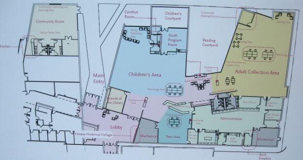 New Viroqua Library plans